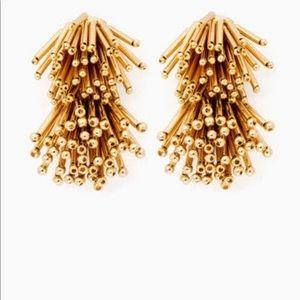 Tuckernuck fireworks earrings - gold